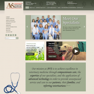 Affilated Vet Specialists (avsspecialists.com)